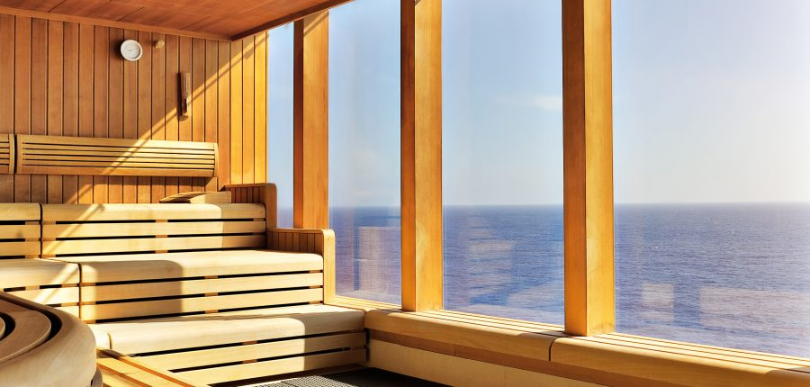 Sauna on Superyacht